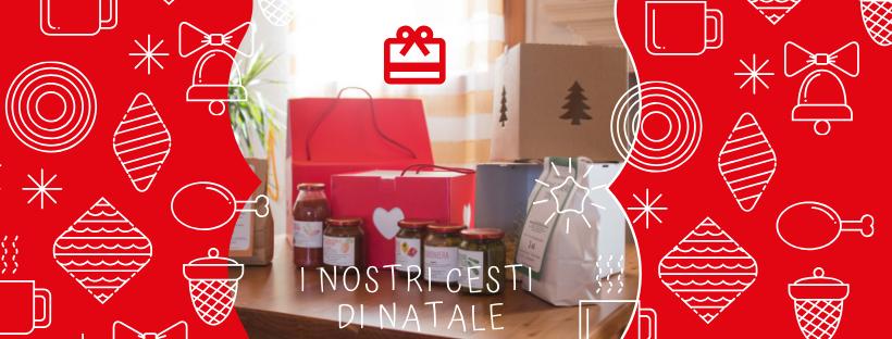 Idee regalo per Natale 2018? Ecco le ceste di Villa Feriani!