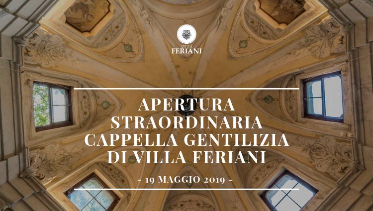 Giornata Nazionale dell'Associazione Dimore Storiche Italiane  – Villa Feriani 19 maggio 2019