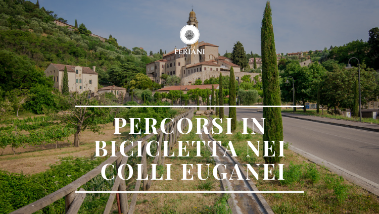 Percorsi in bicicletta nei Colli Euganei