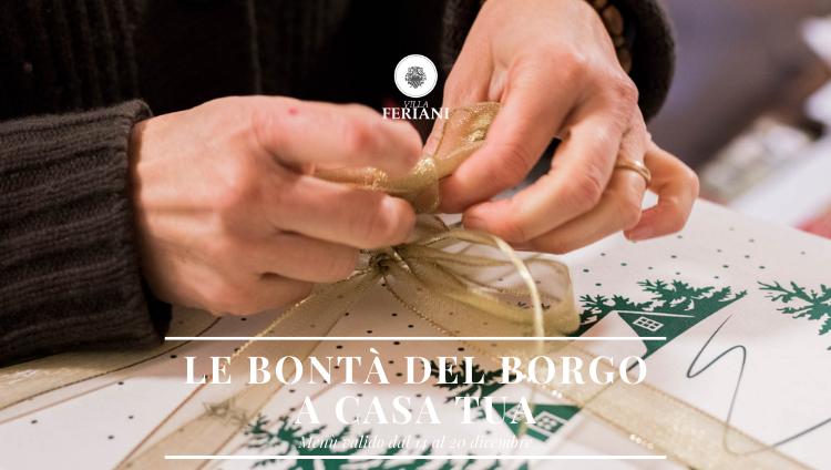 Bontà del Borgo a casa tua – 14/20 Dicembre 2020