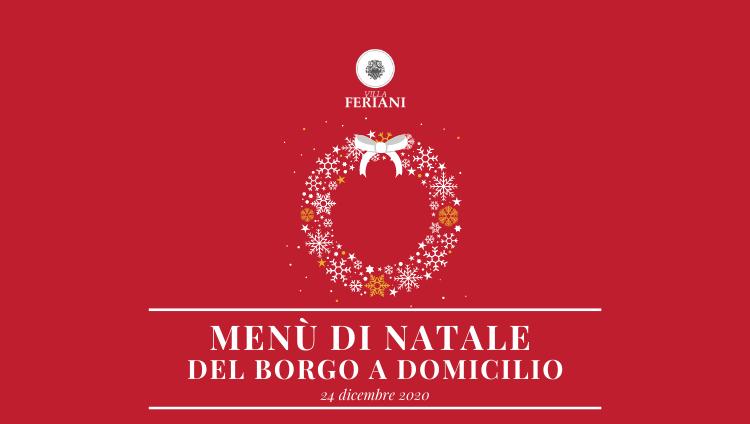Menù di Natale del Borgo a Domicilio