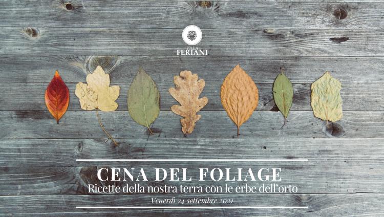 Foliage Magiche Atmosfere d'Autunno – Cena del Foliage a Borgo Feriani 24 Settembre