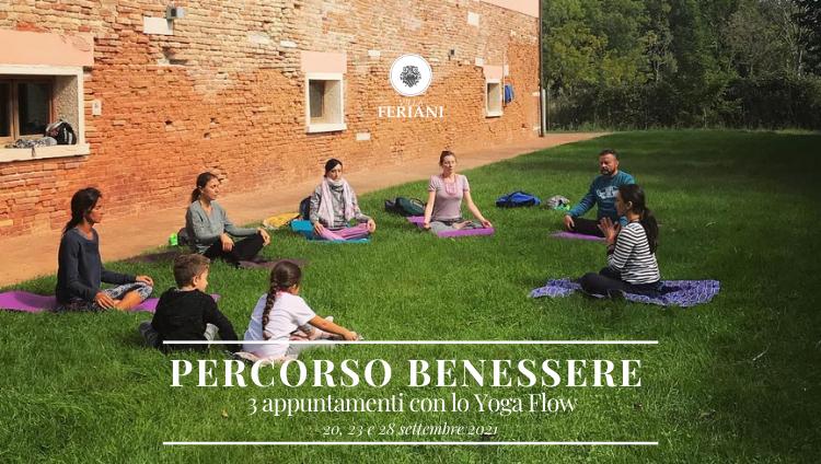 Yoga Flow a Villa Feriani – Percorso Benessere